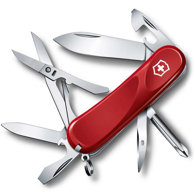 2.4903.E Evolution 16 Red складной нож Victorinox 85мм, 14 функций