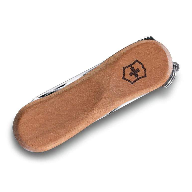 0.6461.63 NailClip Wood 580 Складной нож Victorinox 65мм, 6 функций, с деревянной рукояткой