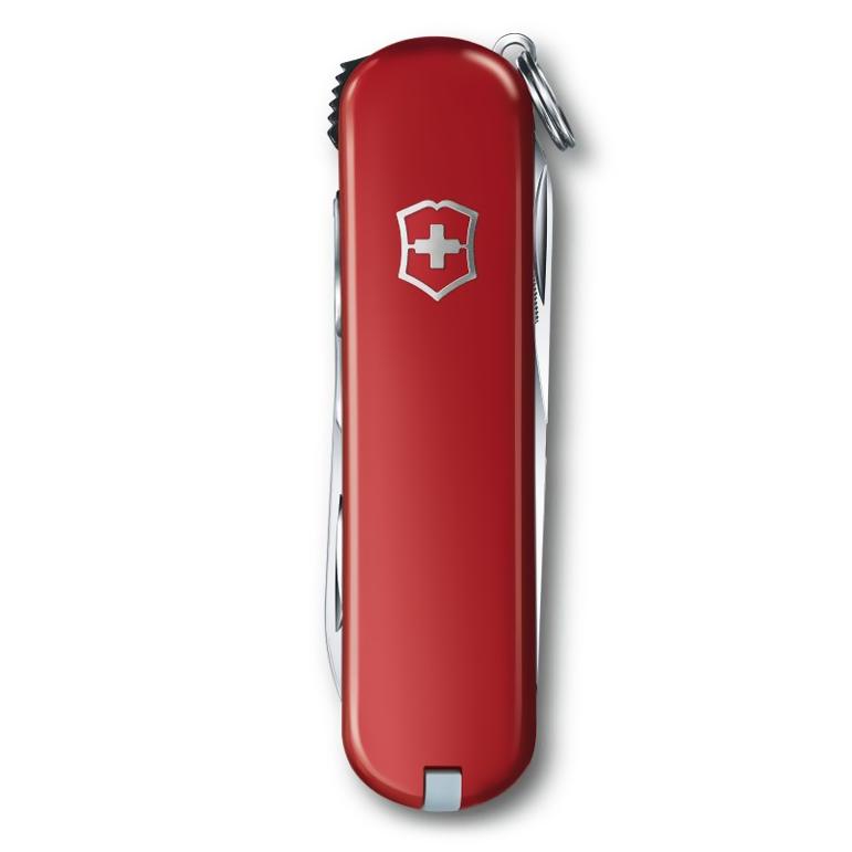0.6463 NailClip 580 Складной нож Victorinox 65мм, 8 функций, с красной рукояткой