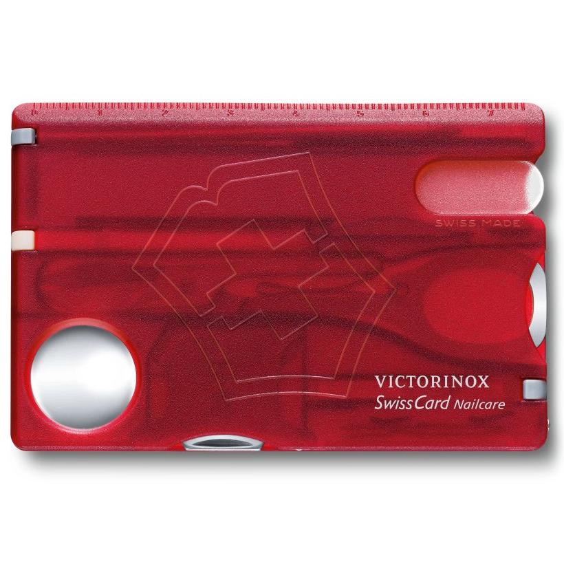 0.7240.T Швейцарская карточка SwissCard Nailcare Victorinox, 13 функций