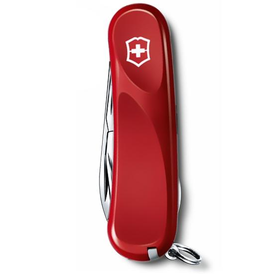 2.4603.SE Evolution S111 складной нож Victorinox 85мм, 12 функции с красной рукояткой и фиксатором лезвия