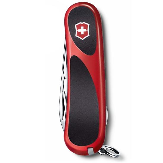 2.4903.C EvoGrip 16 складной нож Victorinox 85мм, 14 функций, с прорезиненной красной рукояткой
