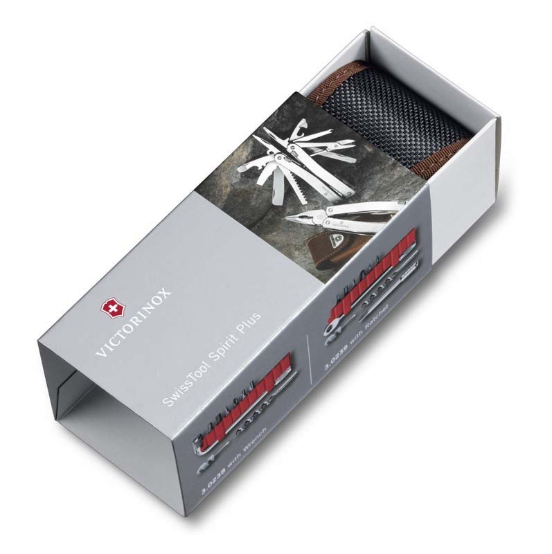 Упаковка для мультитула 3.0239.L SwissTool Spirit XC Plus Ratchet Victorinox 103мм