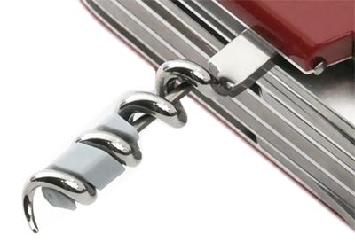 A.3643 Мини-отвёртка плоская для ножей с элементом штопора, вкручивается для хранения или эксплуатации в штопор.